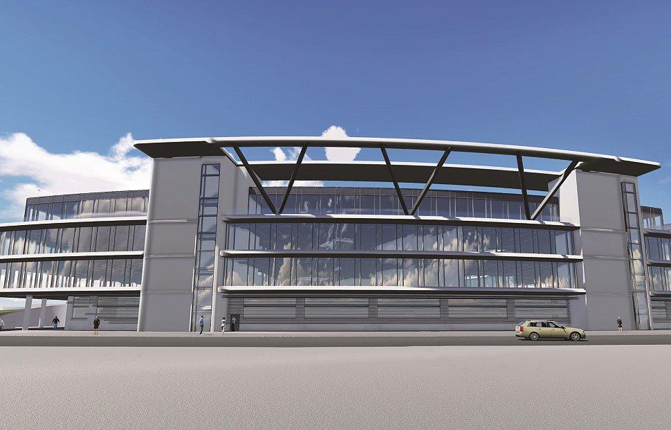Проект нового здания в Штогфорде, Кралинг Штрассе